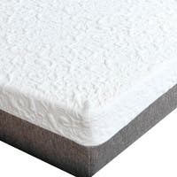 Premier Sleep Products Push 12 inch cal king size Graphite Gel Memory Foam Mattress