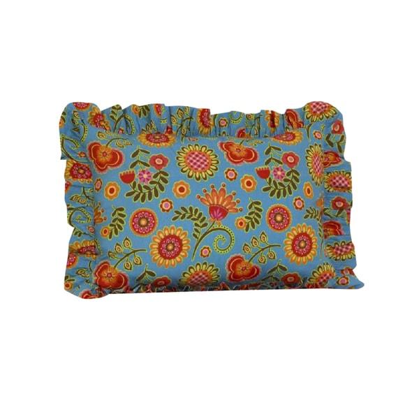 Gypsy Ruffled Pillow Sham