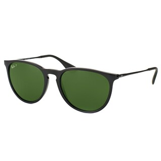 ray ban round sunglasses look alike  ray ban erika rb 4171 600.5p matte black round plastic sunglasses