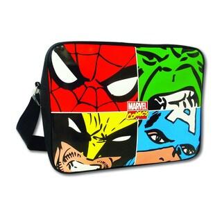 Marvel Face Off Messenger Bag (Option: Multi)