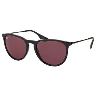 Ray-Ban Erika RB 4171 600.2Q Matte Black Round Plastic Sunglasses