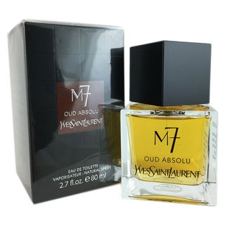 Yves Saint Laurent M7 Oud Absolu Men's 2.7-ounce Eau de Toilette Spray