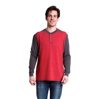 Stanley Men's Long Sleeve Brushed Jersey Henley