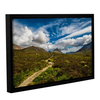 ArtWall Steve Ainsworth's 'Heart Of The Mountains' Gallery Wrapped Floater-framed Canvas