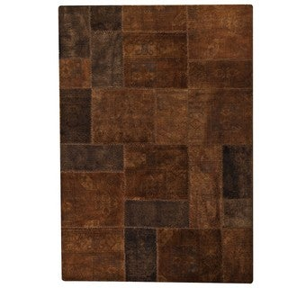 M.A.Trading Hand-knotted Renaissance Brown Rug (7'10 x 9'10)
