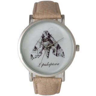 Olivia Pratt Women's Leather Moth Watch
