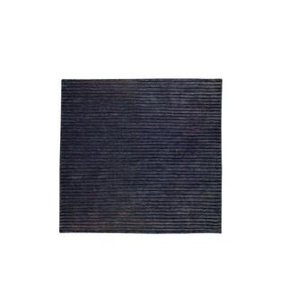Hand-woven Goa Grey Rug (8'3 x 11'6)