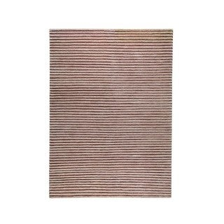 Hand-woven Goa Beige Rug (8'3 x 11'6)
