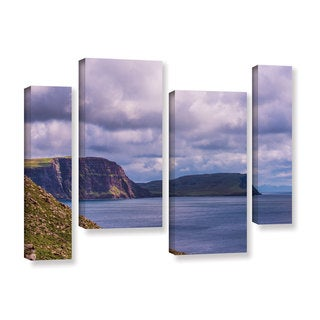 ArtWall Steve Ainsworth's 'Above The Blue' 4-piece Gallery Wrapped Canvas Staggered Set