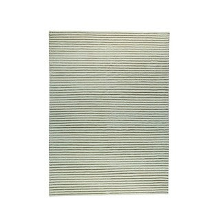 Hand-woven Goa White Rug (8'3 x 11'6)