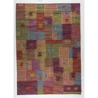 M.A.Trading Hand-woven Khema8 Multicolored Rug (8'3 x 11'6) (India)