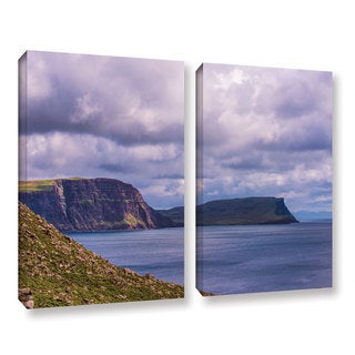 ArtWall Steve Ainsworth's 'Above The Blue' 2-piece Gallery Wrapped Canvas Set - Multi