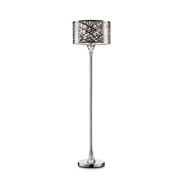 "Array Crystal and Metal 61"" Floor Lamp"