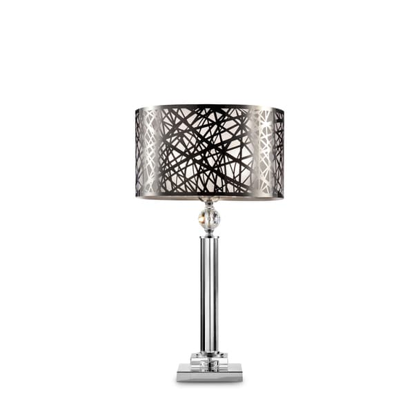 "Array Crystal and Metal 27.5"" Table Lamp"