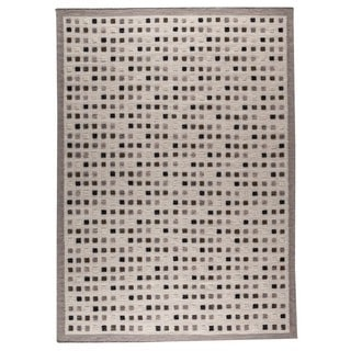 M.A.Trading Hand-woven Khema1 Grey Rug (9' x 12') (India)