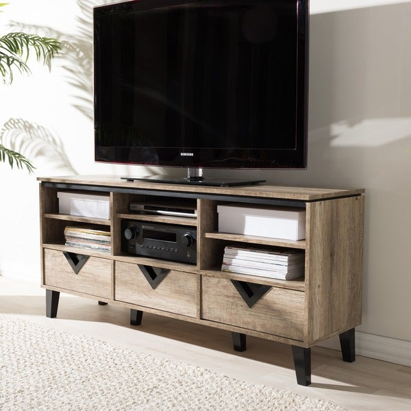 Baxton Studio Spyros Modern and Contemporary 55-inch TV Stand