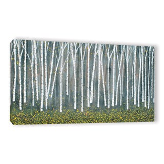 ArtWall Herb Dickinson's 'Autumn Birch' Gallery Wrapped Canvas