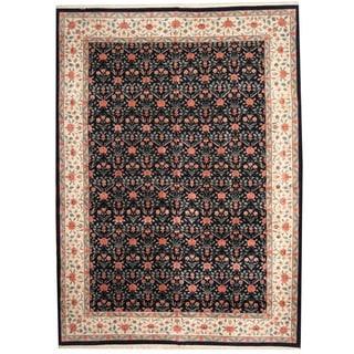 Handmade One-of-a-Kind Tabriz Wool Rug (India) - 10' x 14'