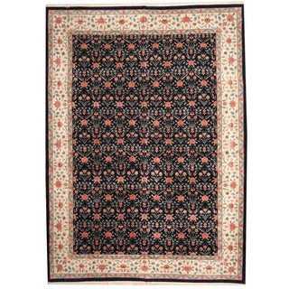 Herat Oriental Indo Persian Hand-knotted Tabriz Wool Rug (10' x 14')