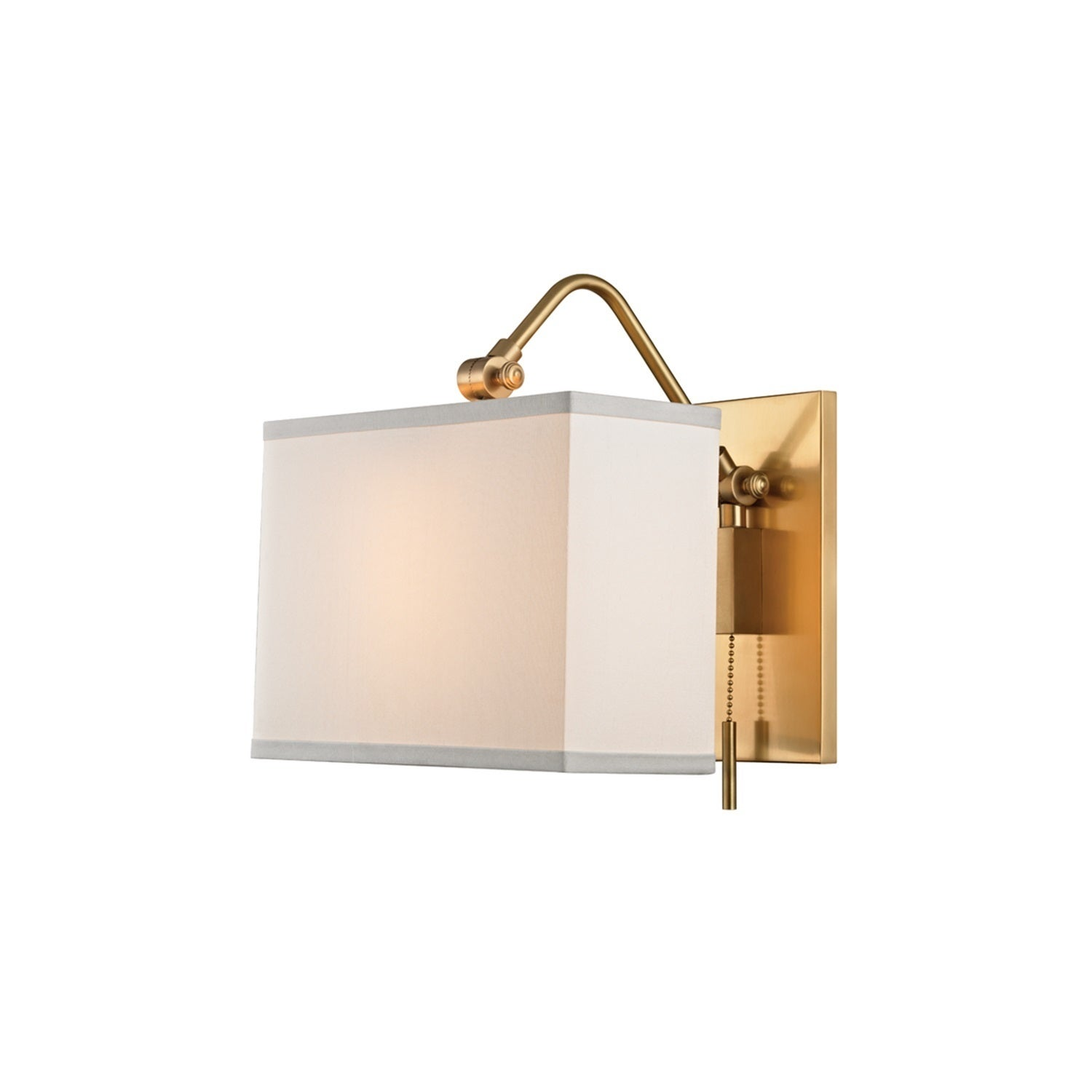 Shop Hudson Valley Leyden Aged Brass Wall Mount Overstock 11517965