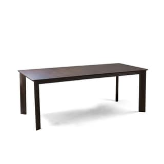 Saloom Ari 36 x 60 Rectangular Extension Maple Smooth Top Dining Table in Java Finish
