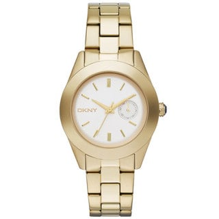 DKNY Women's NY2132 Jitney Goldtone Watch