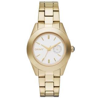 DKNY Women's NY2132 Jitney Goldtone Watch|https://ak1.ostkcdn.com/images/products/11518046/P18467681.jpg?impolicy=medium