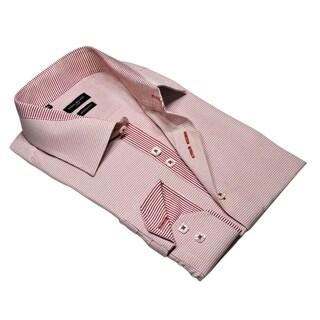Rosso Milano Plaid Dress Shirt