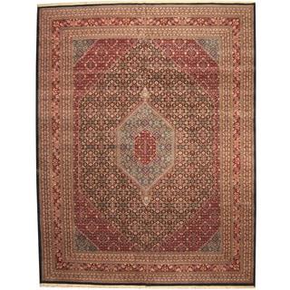Herat Oriental Indo Persian Hand-knotted Bidjar Wool Rug (12' x 15'4)