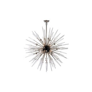 Hudson Valley Sparta 48 inch Polished Nickel Chandelier