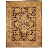 Herat Oriental Indo Persian Hand-knotted Khorasan Wool Rug (12' x 15'6) - 12' x 15'6