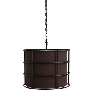 Bronze Steel Cage Pendant Light Fixture