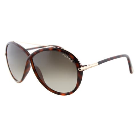 Tom Ford Tamara TF 454 52K Dark Havana Fashion Plastic Sunglasses