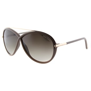 Tom Ford Tamara TF 454 59K Taupe Fashion Plastic Sunglasses