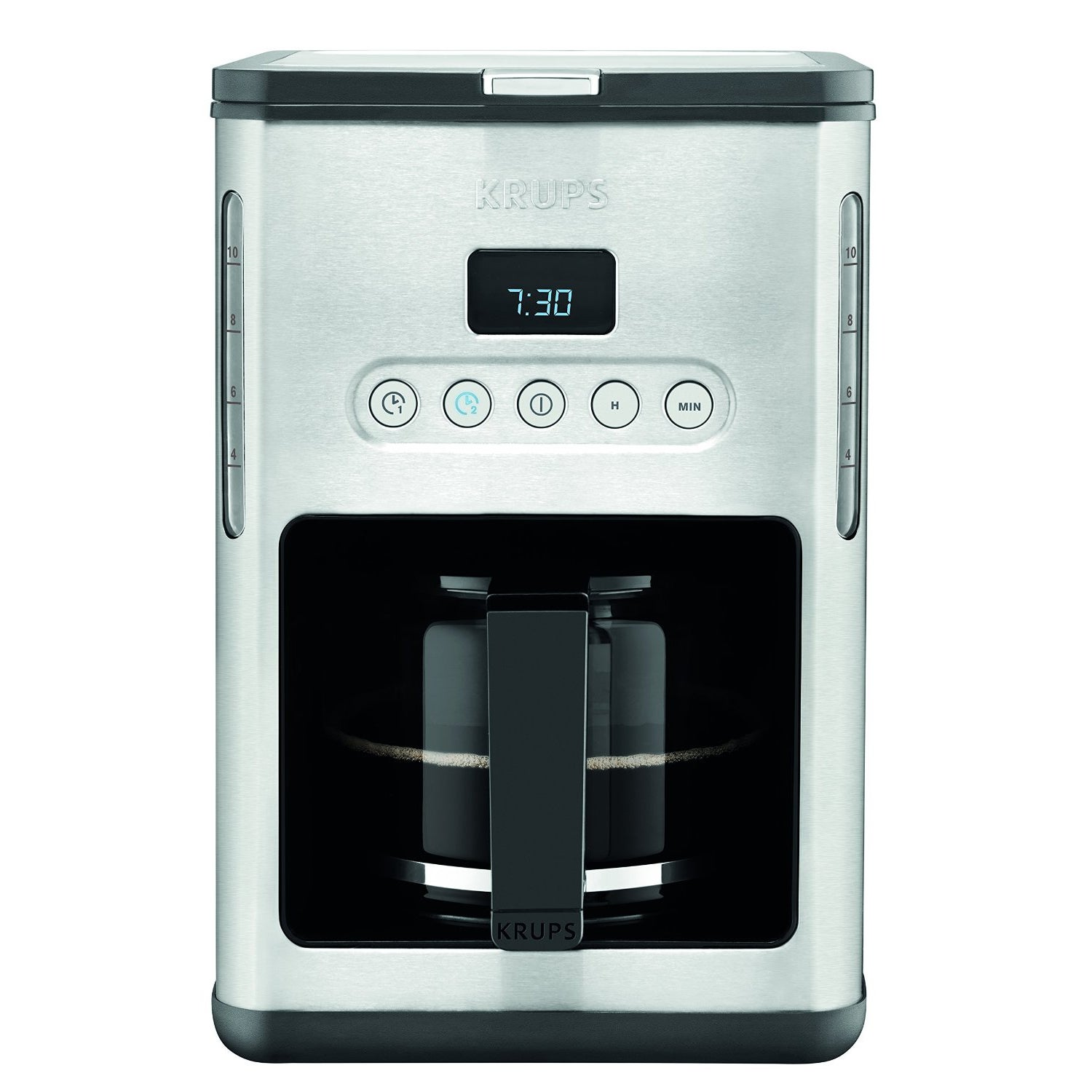Krups KM442D Control Line 10-Cup Programmable Coffee Make...
