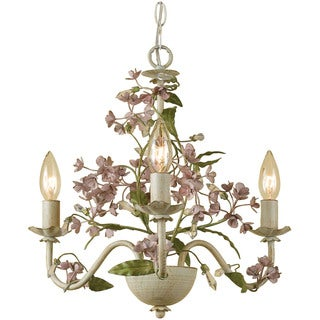 AF Lighting 7044-3H Grace Three-Light Chandelier