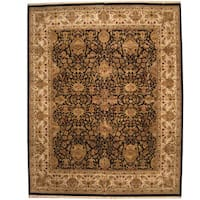 Herat Oriental Indo Persian Hand-knotted Khorasan Wool Rug (12'1 x 15'1) - 12'1 x 15'1