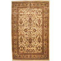 Herat Oriental Indo Persian Hand-knotted Khorasan Wool Rug - 12' x 18'7