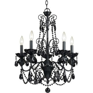 AF Lighting 7506-5H Mischief Five Light Chandelier