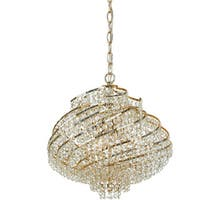 AF Lighting 7742-4H Lyric Chandelier