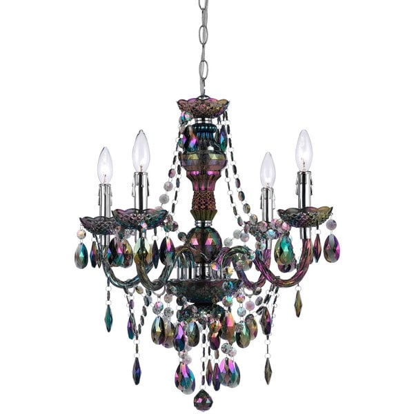 Af lighting iridescent smoke 9001 4h naples 4 light mini chandelier af lighting iridescent smoke 9001 4h naples 4 light mini chandelier aloadofball Image collections
