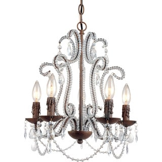 AF Lighting 5195-5H Beloved Five Light Mini Chandelier