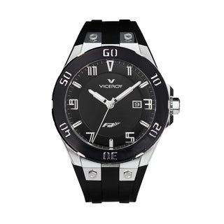 Viceroy Men's 47673-55 Black Rubber Watch