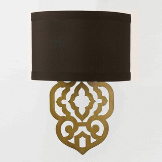 Grill Wall Sconce- Gold Foil