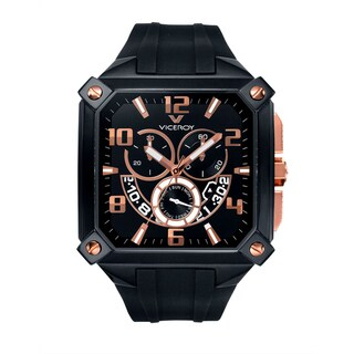 Viceroy Men's 47639-95 Black Rubber Watch