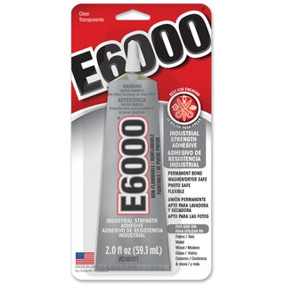E6000 Craft Adhesive, 2 oz, Clear(gl601)