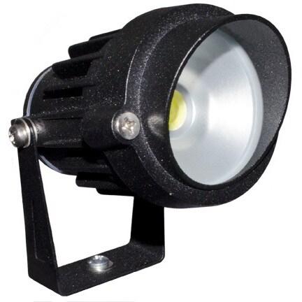 Lucienne 1-Light Outdoor Black Path Light