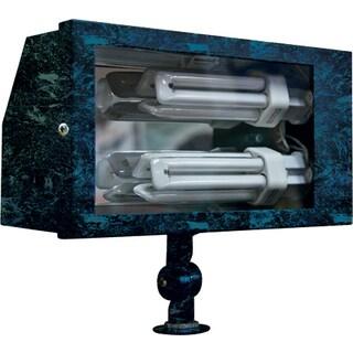 Jaxon 2-Light Outdoor Verde Green Flood Light