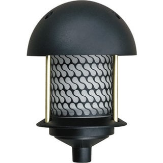 Annette 1-Light Outdoor Black Path Light