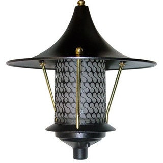 Libby 1-Light Outdoor Black Path Light